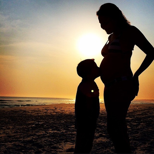 Fotos de barriga de gravida de um mes 32