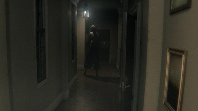 Lisa é aterrorizante fantasma que aparece em P.T. (Foto: Reprodução/Tais Carvalho)