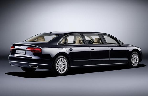 Audi A8 L Extended (Foto: Divulgação)
