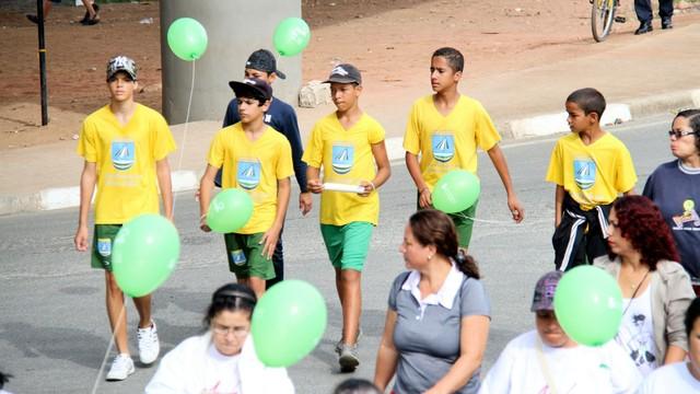 Caminhada do Meio Ambiente (Foto: Haroldo Costa Teixeira Junior)