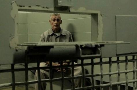 Cena de 'Morte na escadaria' (Foto: Reprodução)