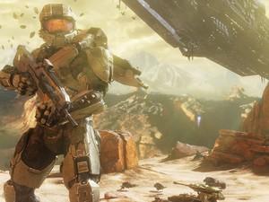 Master Chief volta em 'Halo 4' (Foto: Divulgação)