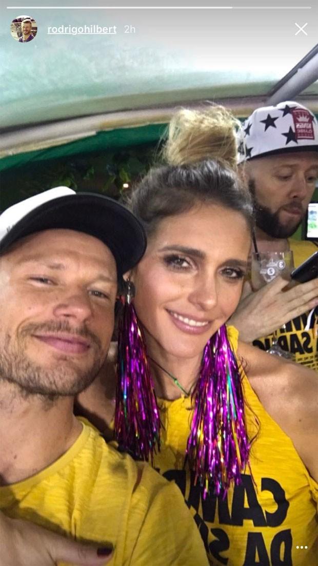 Fernanda Lima e Rodrigo Hilbert (Foto: Reprodução / Instagram)
