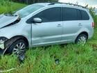 Suspeito de roubar carro fica ferido após acidente na rodovia PR-580