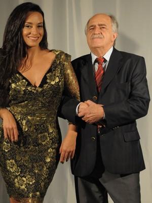 Suzana Pires encarnam casal fogoso e cômico (Foto: Gabriela / TV Globo)
