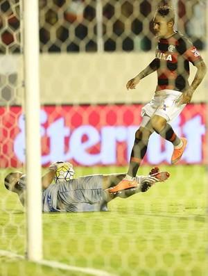 Rafael Sandes, goleiro do Confiança, Confiança x Flamengo (Foto: JORGE HENRIQUE/FUTURA PRESS/ESTADÃO CONTEÚDO))
