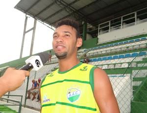 Mazinho, volante do Coruripe (Foto: Leonardo Freire/GloboEsporte.com)
