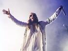 Jared Leto empolga fãs no show da banda 30 Seconds to Mars, em SP
