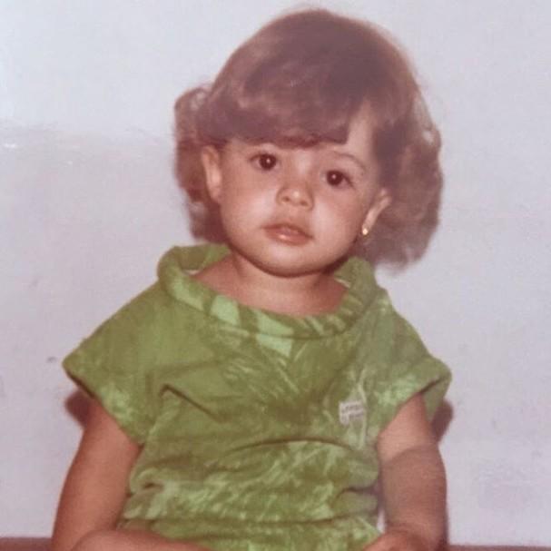 Sandy posta foto da infância (Foto: Reprodução/Instagram)