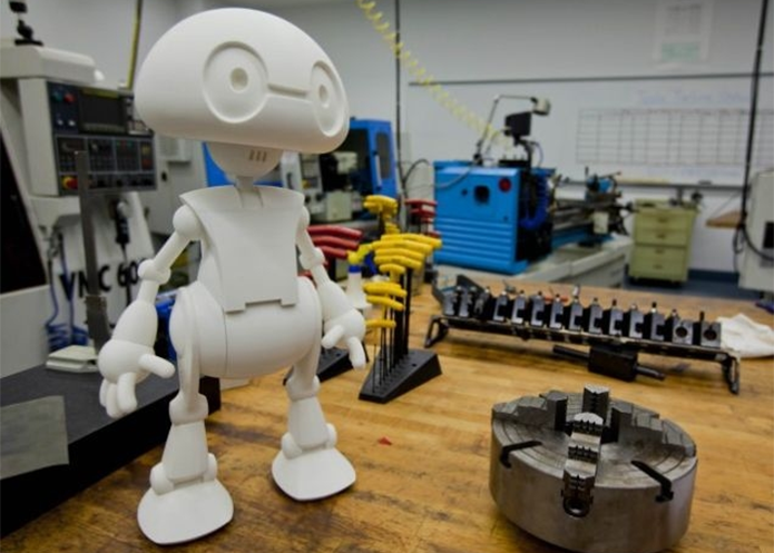 Robôs com chip Intel poderão ter muitas partes impressas em casa a custo baixo (Foto: Reprodução/Gizmodo)