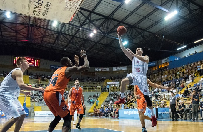 franca x liga sorocabana (Foto: Newton Nogueira/Franca Basquete)