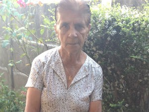 Almerinda mãe Uberlândia (Foto: Lorena Carrijo)