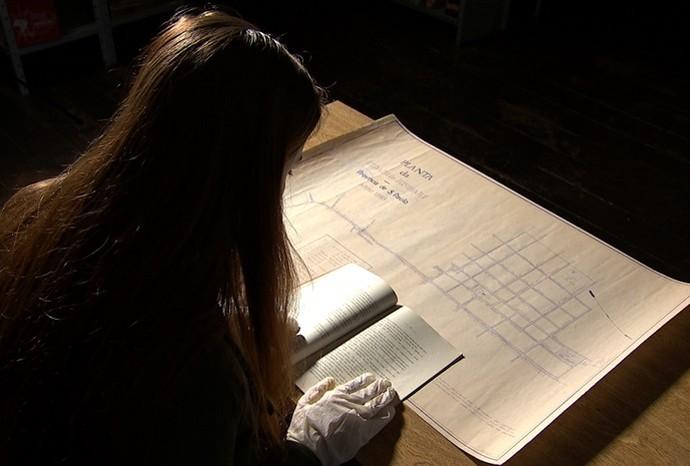 O Centro de Memória de Jundiaí reúne grande acervo para pesquisas (Foto: Reprodução / TV TEM)