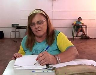 Paraná TV vovô estudante (Foto: Reprodução/ RPC TV)