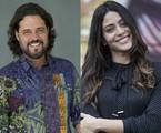 Felipe Camargo e Carol Castro | Estevam Avellar e Pedro Curi/TV Globo