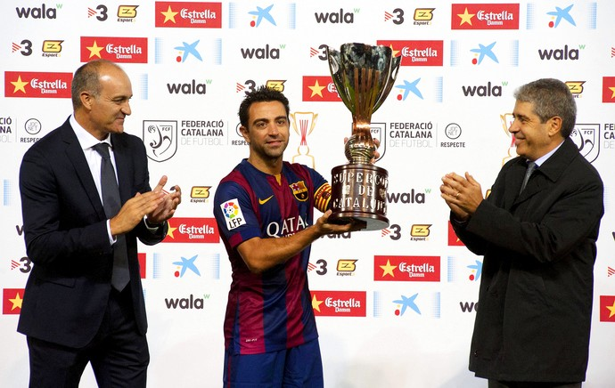 barcelona x Espanyol - supercopa taça (Foto: Efeservicios)