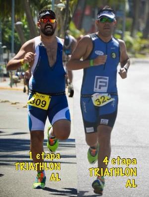 João Paulo triatlo al (Foto: Arquivo pessoal/João Paulo)