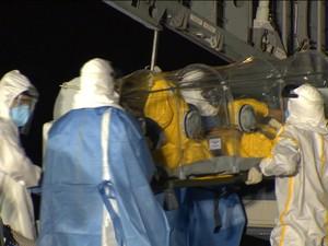Ebola (Foto: Rede Globo)