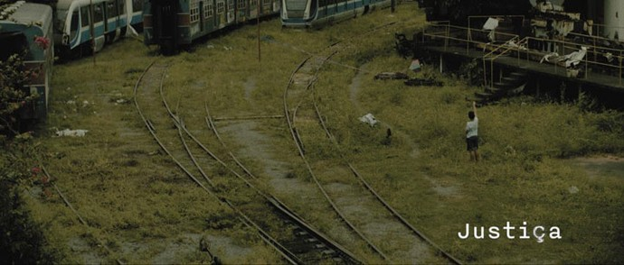 Abertura do segundo capítulo de Justiça (Foto: TV Globo)