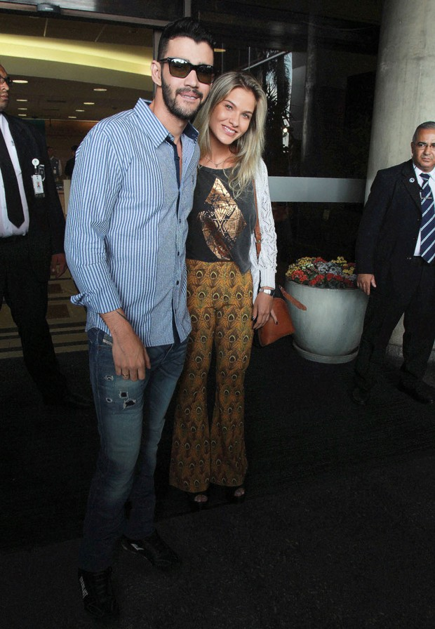 Gusttavo Lima e Andressa Suita (Foto: Celso Tavares / Ego)