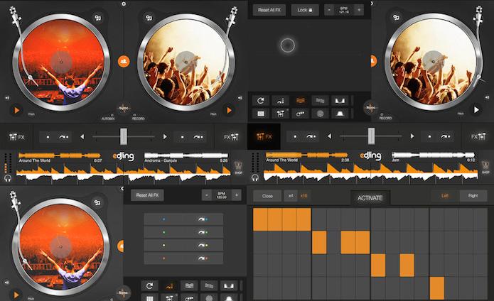 Use o Edjing para soltar o DJ que existe em você (Foto: Divulgação/AppStore)