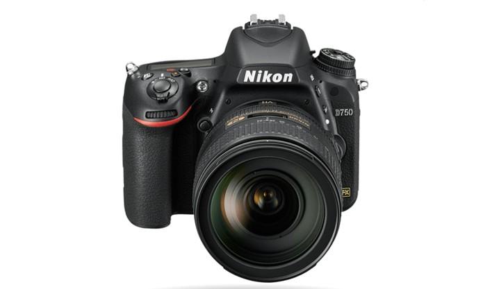 Nikon D750 registra filmes em Full HD e vem com sensor CMOS (Foto: Divulgação/Nikon)