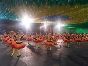 Dançarina surda integra quadrilha Sorriso Cristalino (Foto: Andreza Sanches/Agência Amapá)
