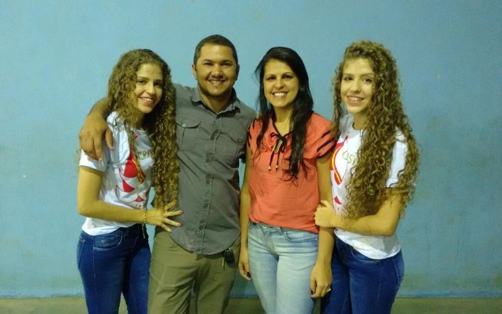 Vereador eleito em São Sebastião de Lagoa de Roça, na Paraíba, disse que quer ter tempo para se dedicar a família (Foto: Leandro Nascimento / Aquivo Pessoal)