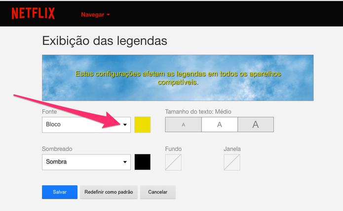 Saiba como usar a legenda Comic Sans na Netflix (Foto: Reprodução/Felipe Vinha)