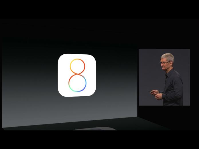 iOS 8 está confirmado no iPhone 5S e já virá embarcado no próximo smartphone (Foto: Reprodução/Apple)