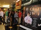 Problema no cenário cancela espetáculo de Claudia Raia