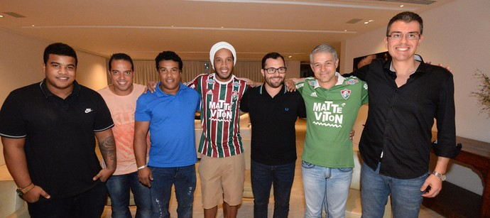 Ronaldinho Fluminense (Foto: Alexandre Vidal / Agência FotoBR)