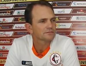 Paulo César Schardong, novo técnico do Campinense (Foto: Reprodução / Campinense)