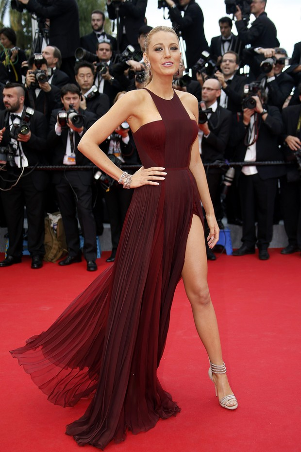 Blake Lively na abertura do Festival de Cannes 2014 (Foto: Reuters)