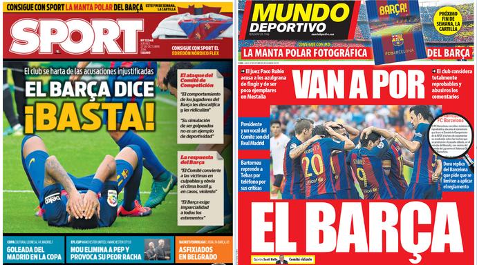 Sport Mundo Deportivo Barcelona Espanha (Foto: Reprodução / Mundo Deportivo / Sport)