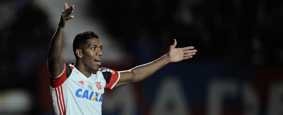 Berrío teve atuação ruim contra o San Lorenzo (Foto: Staff Images/Flamengo)