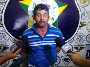 José Roberto da Silva confirmou o homicídio, mas negou esquartejamento (Foto: Márcio Chagas/G1)