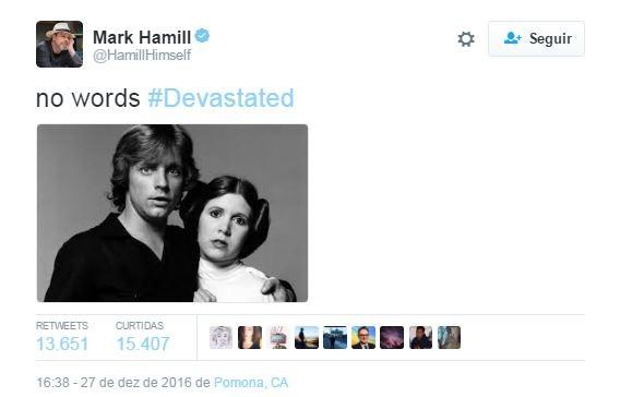 Mark Hamill (Foto: Reprodução/Instagram)