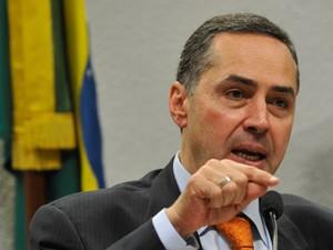 Luís Roberto Barroso, durante sabatina no Senado (Foto: Antonio Cruz/ABr)