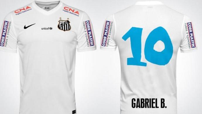 Peixe enfrenta Criciúma com números das camisas desenhados por ... 04719c55d9949