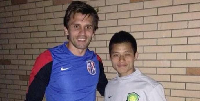 Paulo André e Zizao, china (Foto: Reprodução)
