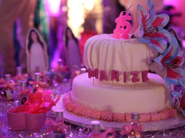 Festa de aniversário de Marizé (Foto: Vila dos Ventos / TV Globo)