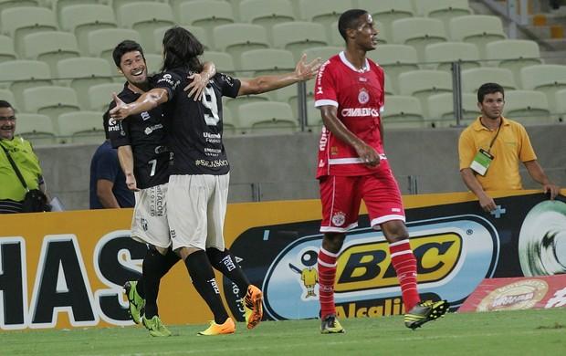 Ceará x América-RN Série B Castelão (Foto: Bruno Gomes/Agência Diário)