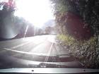 Motorista dirige em zigue-zague e causa acidente no RS; veja o vídeo