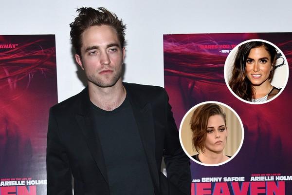 Robert Pattinson, Nikki Reed e Kristen Stewart (Foto: Getty Images)