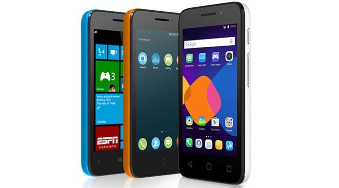 Alcatel One Touch Pixi permite aumentar o armazenamento interno em até 32 GB (Foto: Divulgação/Alcatel)