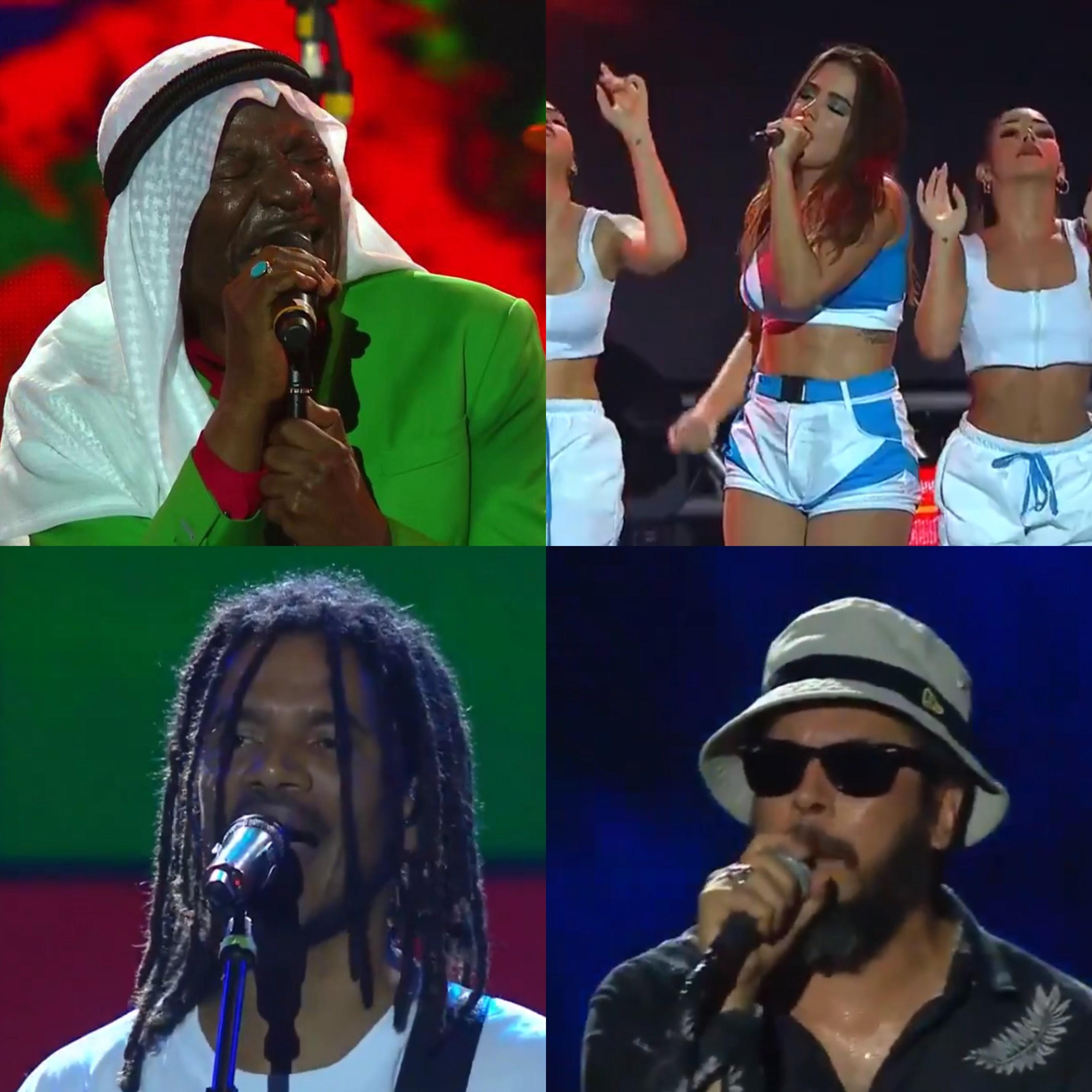 Anitta, Alpha Blondy, Natiruts e Nao Zumbi agitaram o primeiro dia do Festival de Vero de Salvador (Foto: Divulgao/ Multishow)