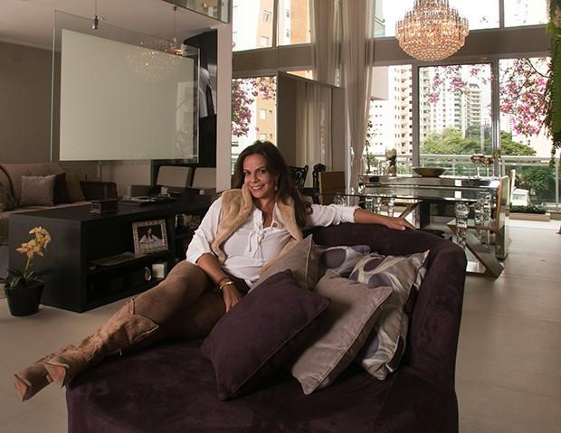 Sula Miranda (Foto: Marcos Rosa/ Ed. Globo)