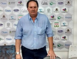 Robson Régis Silva, presidente do Conselho Deliberativo do Treze (Foto: Silas Batista / GloboEsporte.com)