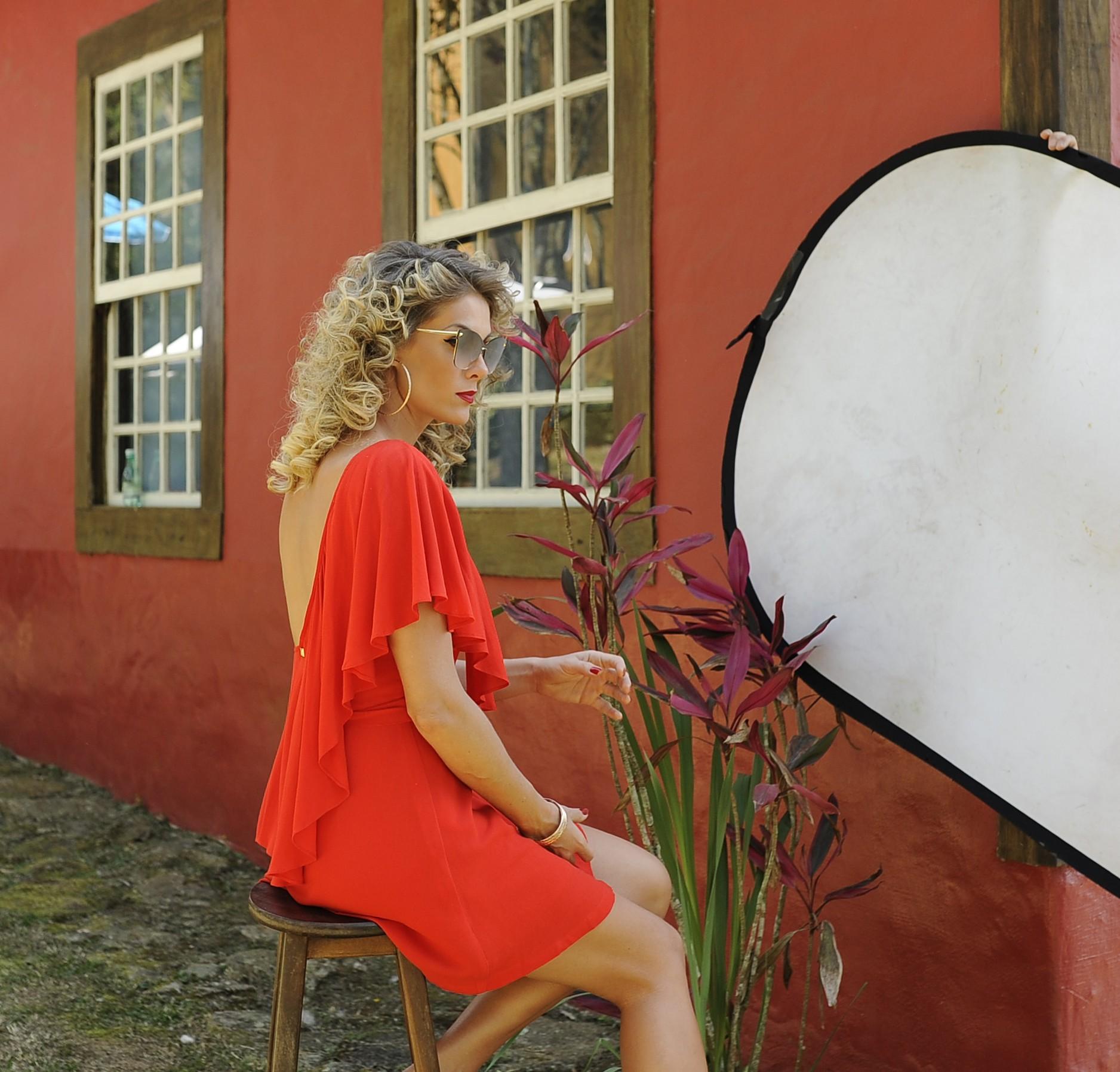 Ana Hickmann na campanha da Ana Hickmann Eyewear (Foto: Karine Basílio)